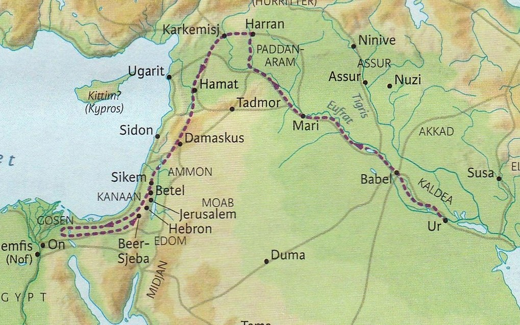 Abrahams vandring  1.mosebok